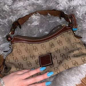 Real authentic dooney and bourke handbag
